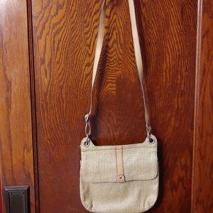 Relic* woven crossbody bag